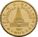 10 cents (other side, country Slovenia) 0.1