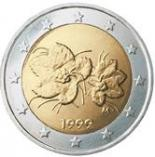 2 euro (other side, country Finland) 2